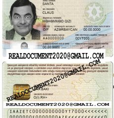 Fake Azerbaijan ID Card
