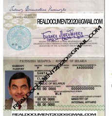 Buy Belarusian Passport