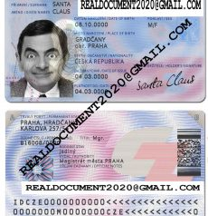 Fake Czech ID Card