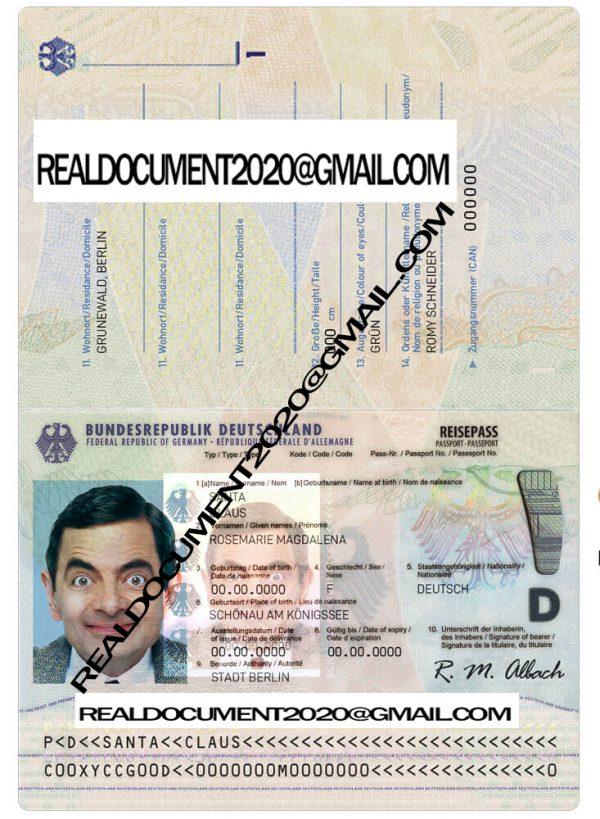 Buy German Passport