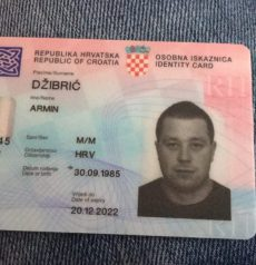 buy Fake Croatian ID Cards