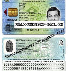 Fake Brazilian ID Card