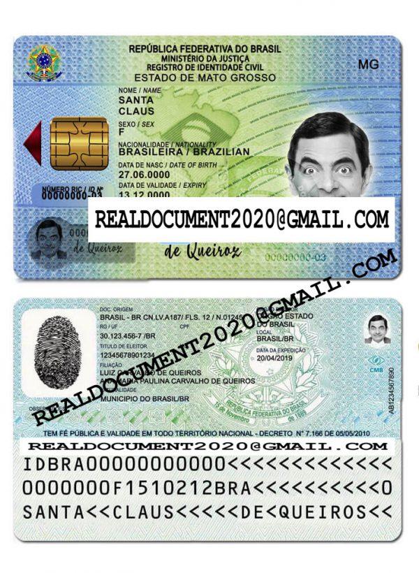 Fake Brazilian ID Card