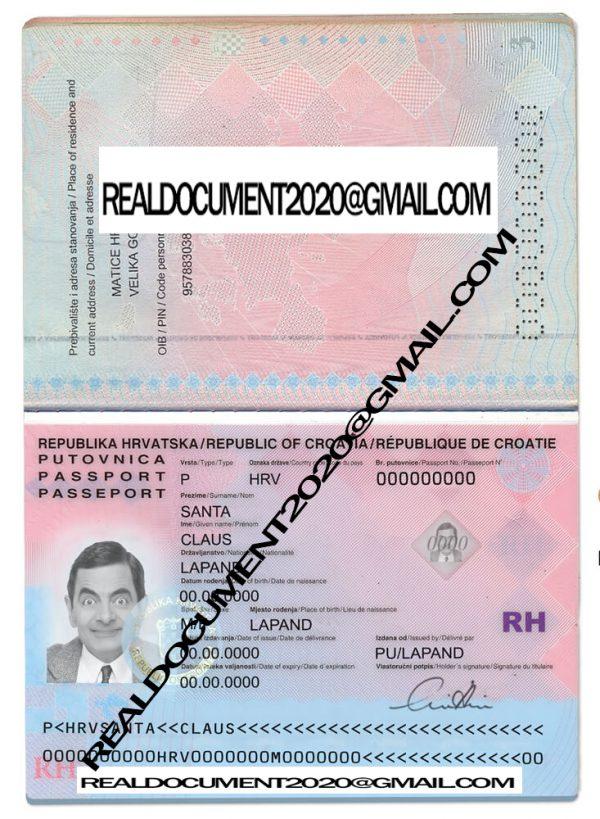 buy Croatian Passport