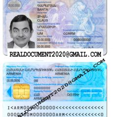 Fake Armenian ID Card