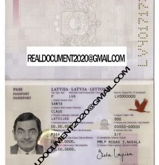 fake Latvian Passport