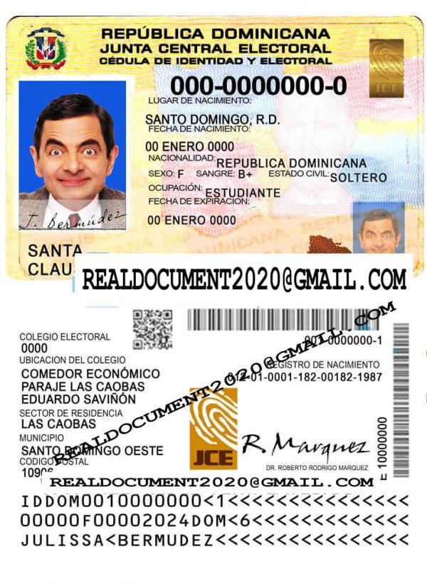 Dominican Republic ID Card