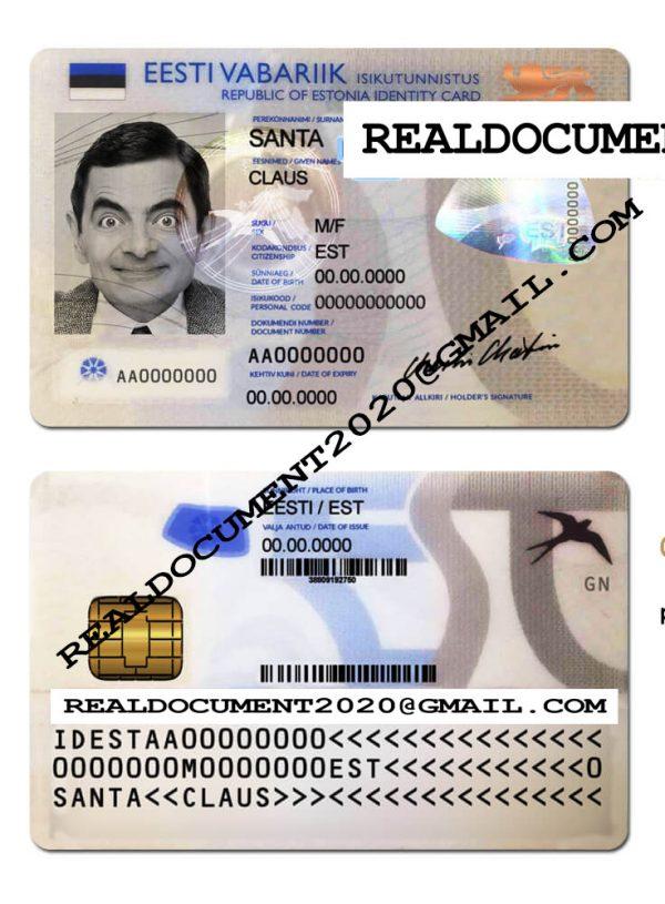 Fake Estonian ID v1