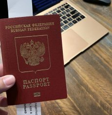 FAKE russian passport