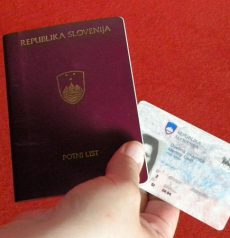 Fake Slovenian ID Card