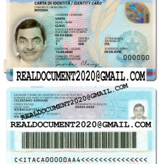 Fake Italian ID Card