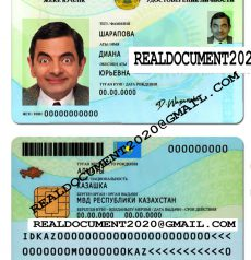 Fake Kazakhstan ID Card