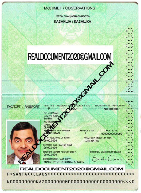 buy Kazakhstan Passport