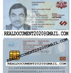 Fake Latvian ID Card