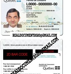 Quebec Driver License