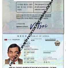 South Korea Passport