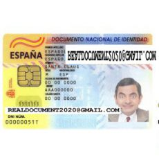 fake Spanish ID Card