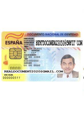 fake Spanish ID Card