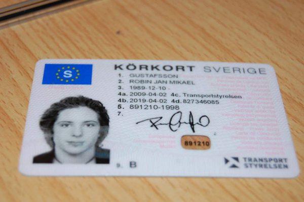 Swedish Driver Licence