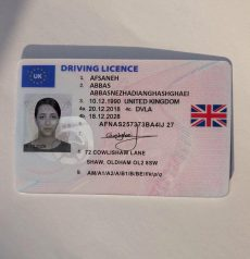 UK Driver License for sale