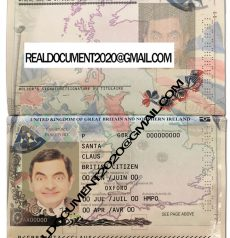 Buy UK Passport new version