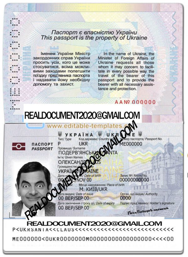 Buy Ukraine Passport