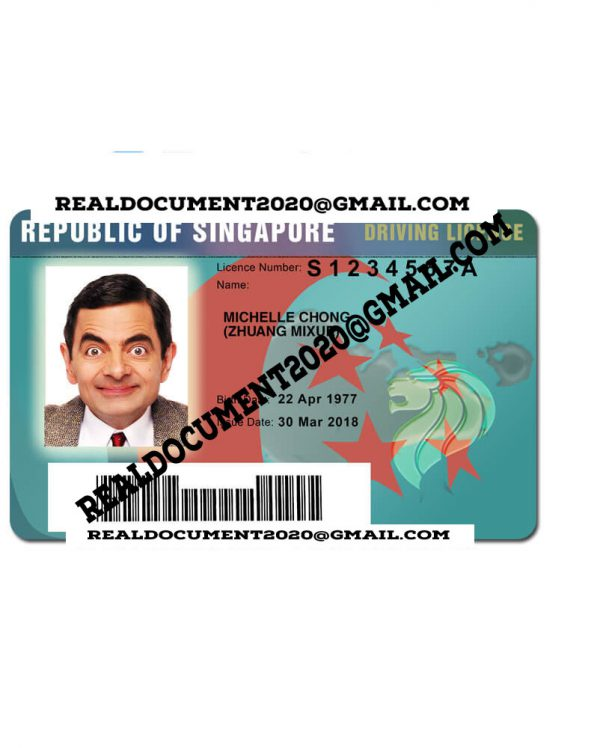 Singapore Driver License