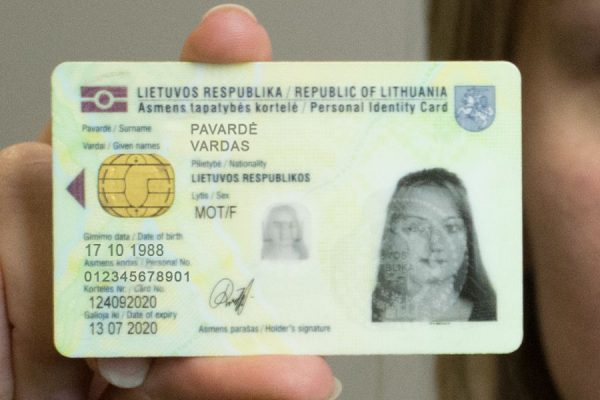 buy fake Lithuania ID card