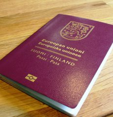 fake Finnish passport