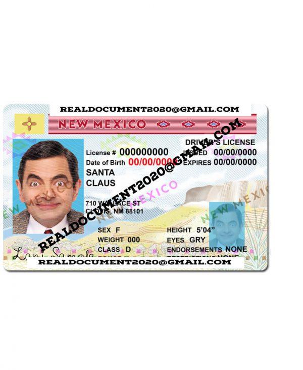 New Mexico Driver License