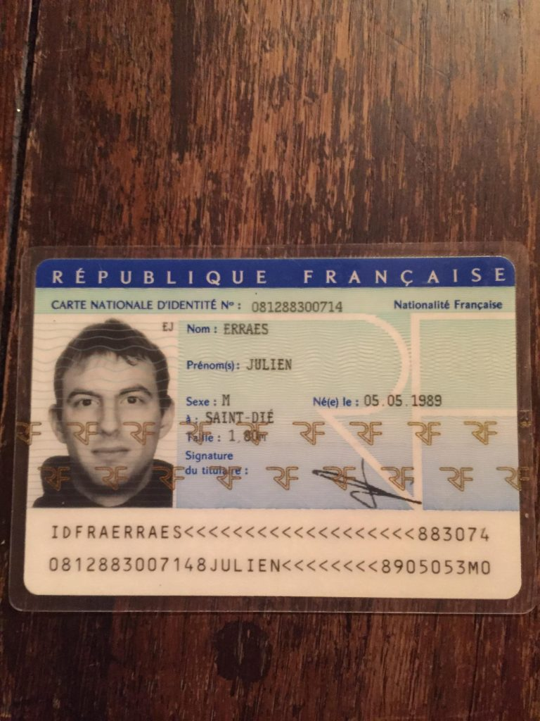 Fake French ID Card, buy fake french identity card With Regard To French Id Card Template