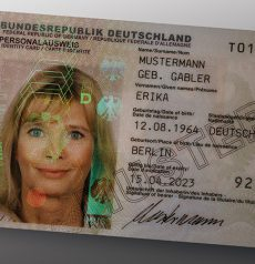 fake german id
