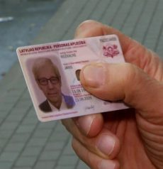 latvian id card
