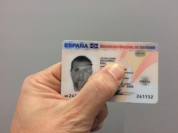 new spanish id card for sale