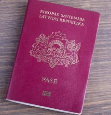 real Latvian passport
