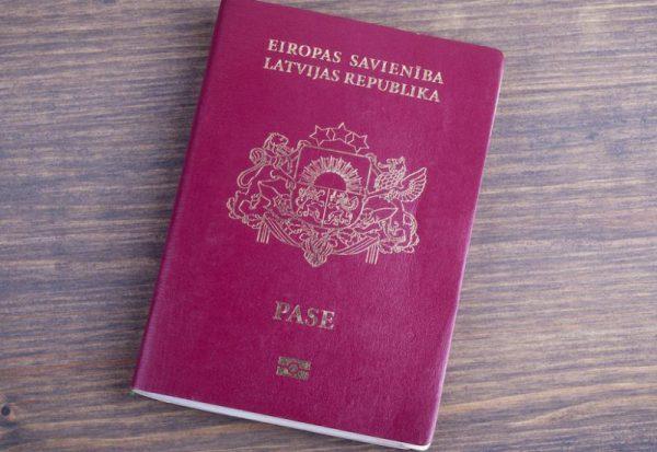 real Latvian passport